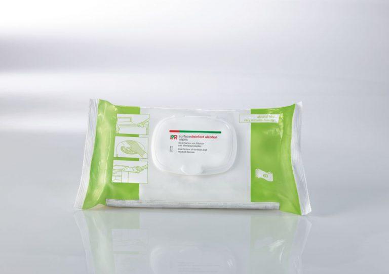 Desinfektionstücher L+R surfacedisinfect universal wipes