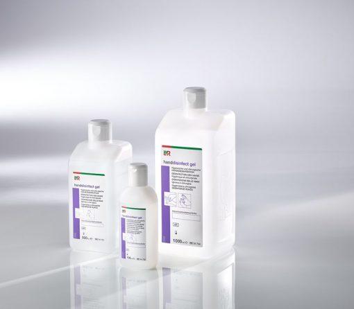 """L+R """"handdisinfect gel"""" Ethanolisches Händedesinfektionsmittel 1000ml"""