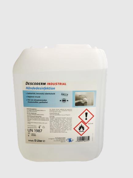 """Desinfektionsmittel """"DESCODERM Industrial"""""""