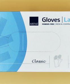 Einmalhandschuhe Abene Classic Latex puderfrei L 100St