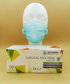 Atemschutzmaske, Mund- und Nasenschutz mit Gummibänder aus mehrlagigem Vlies