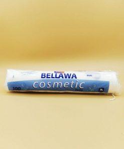 Bellawa Cosmetic Wattepads rund, 100 Stück/Packung - Aktion! Besonders weich, sanft und fusselfrei aus 100% reiner Baumwolle.