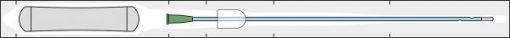 Hydrophiler Einmalkatheter IQ-Cath gebrauchsfertig CH12, 43cm Länge, 30St/Pkg