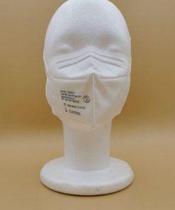 FFP2/KN95 für Allergiker geeignet, faltbare Atemschutzmaske mit Earloop Gummi