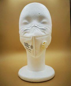 TSM011 FFP3/KN95 faltbare Atemschutzmaske mit Ventil